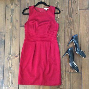 2/$40: Banana Republic 6 Cranberry Wool Dress